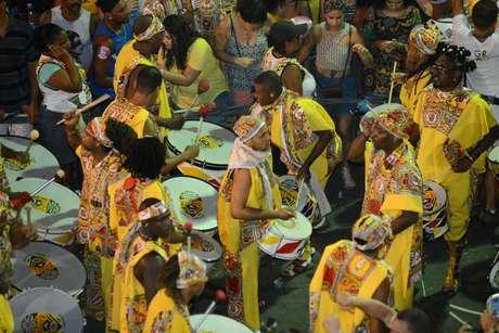 Saída do bloco Ilê Ayiê, um dos mais tradicionais da Bahia