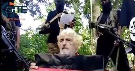 Divulgan video de decapitación de rehén alemán a manos de terroristas filipinos