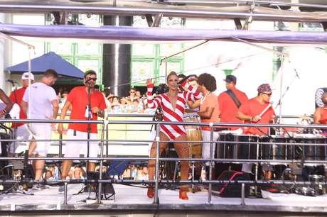 Ivete Sangalo se apresenta em Salvador
