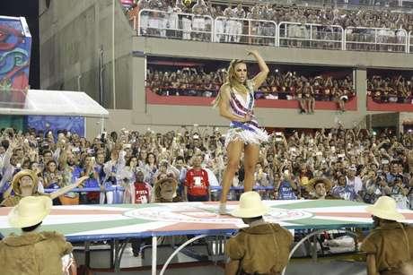 Ivete Sangalo é homenageada pela Grande Rio