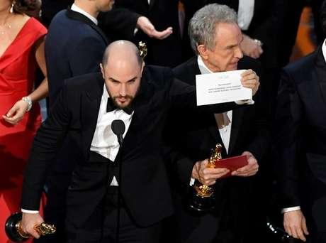 Jordan Horowitz, produtor de 'La La Land', revela o equívoco e anuncia vitória de 'Moonlight'