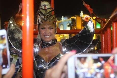 """Xuxa se fantasiou de """"Eva do futuro"""""""
