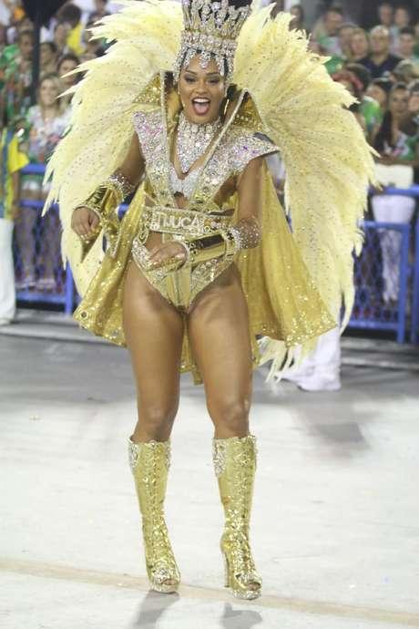 Juliana Alves, rainha de bateria da Unidos da Tijuca