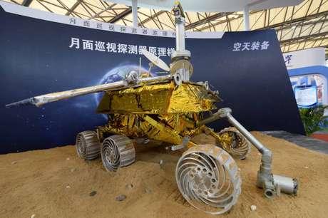 Protótipo de sonda que a China planeja enviar à Lua.