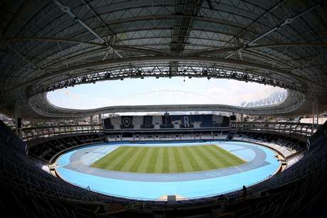 Vista do Estádio Nilton Santos