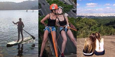 Stand up pedal, rapel e cachoeiras - tudo isso sem sair de SP!