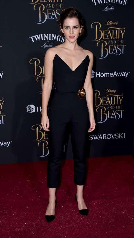 El sexy look de Emma Watson.