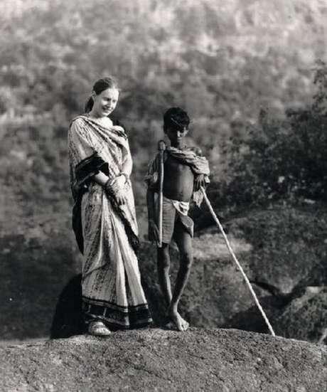 Charlotte Von Schedvin se encantou com o interior da Índia