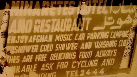 Na trilha hippie, vários hotéis afegãos ofereciam banho - de água fria -, música, espaço para estacionar, acampar e lavar as roupas