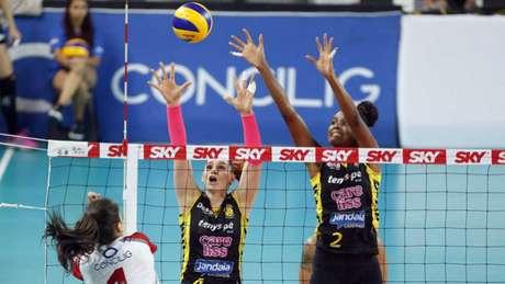 Dentil/Praia Clube ocupa o segundo lugar, com 46 pontos