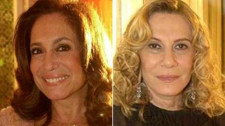 Maria do Carmo (Susana Vieira) e Nazaré (Renata Sorrah): um dos melhores duelos da teledramaturgia brasileira