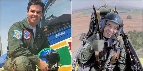 Fernando De Borthole voou com a Força Aérea e a Esquadrilha da Fumaça