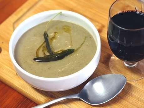 Sopa de berinjela à italiana