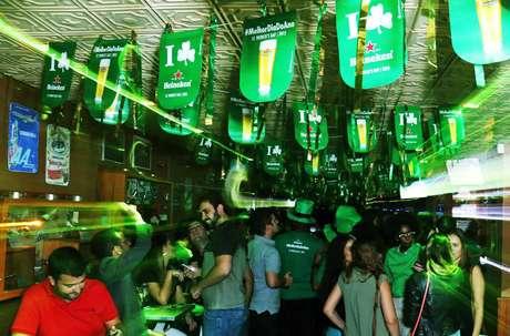 Bares comemoram St. Patrick's Day em SP com promoções especiais