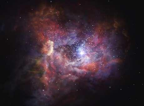 A galáxia A2744_YD4 é uma das mais distantes conhecidas
