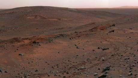 Marte é um planeta de condições extremas - as temperaturas vão de -80°C a 20°C