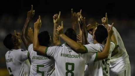No Grupo 7, Chapecoense, que bateu Zulia na estreia, não tem nenhum atleta campeão da Libertadores