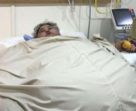 Abd El Aty antes da cirurgia