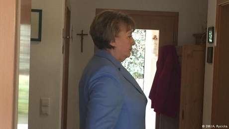 A sósia polonesa de Angela Merkel