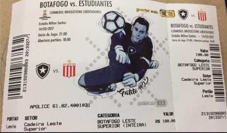 Gatito Fernández é o destaque no ingresso alvinegro pela Libertadores (Foto: Reprodução-Internet)