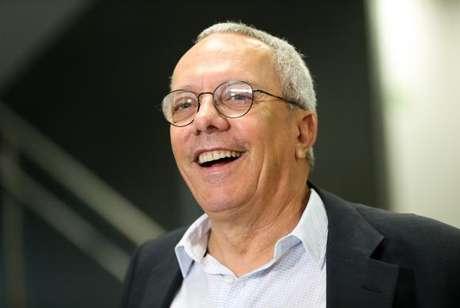 O vice-presidente de Tecnologia da Caixa, José Antônio Eirado, durante entrevista sobre o saque dos recursos das contas inativas do Fundo de Garantia do Tempo de Serviço