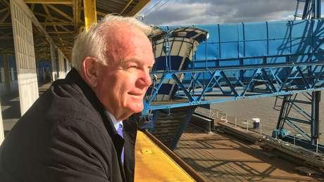 David Hill zarpou de Tilbury, na Inglaterra, com destino à escola agrícola Fairbridge.