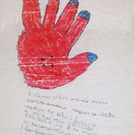 Alunos de Jonê Carla retratam casos de violência em atividades em aula