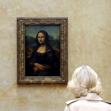Monalisa, obra do gênio italiano Leonardo da Vinci