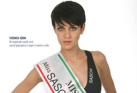 Site oficial do Miss Itália prestou homenagem a Veronica Sogni