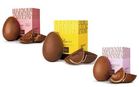 Os ovos recheados são alguns dos produtos encontrados com desconto na loja
