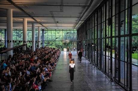 Desfile da Ellus no São Paulo Fashion Week