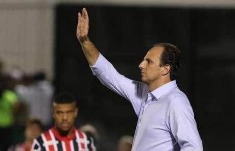 Rogério Ceni no Fraqueirão, no empate com o ABC-RN (Foto: Rubens Chiri/saopaulofc.net)