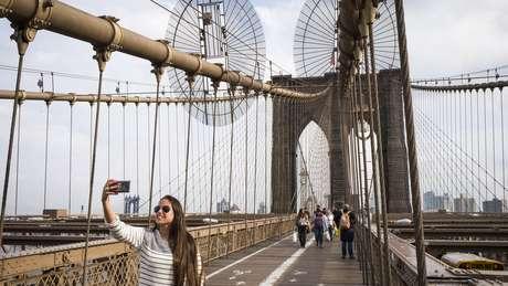 Em 2016, Nova York recebeu 60,7 milhões de visitantes, sendo 12,7 milhões estrangeiros, entre eles 817 mil brasileiros