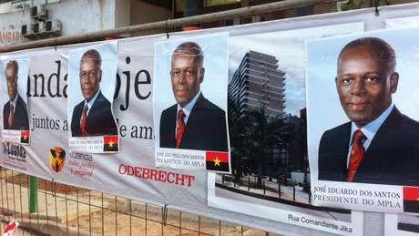 Presidente angolano está no comando do país desde 1979