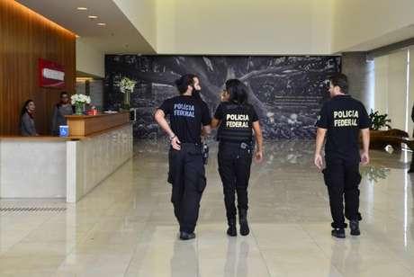 Polícia Federal chega à sede da Construtora Odebrecht, na 23ª fase da Operação Lava Jato