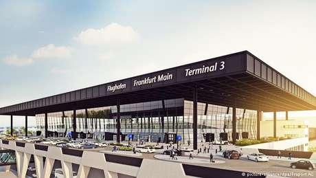 Simulação mostra como será o Terminal 3 de Frankfurt, operado pela Fraport