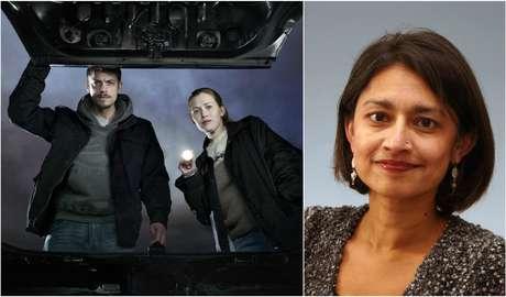 Cena de 'The Killing' e a professora e palestrante Ushma Chauhan Jacobsen