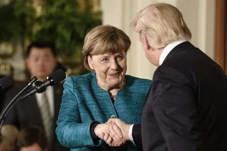 Angela Merkel e Donald Trump se reuniram na Casa Branca nesta sexta-feira, 17/03/2017