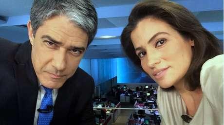 Bonner e Renata, do 'JN': mais de 20 minutos de cobertura detalhada do escândalo
