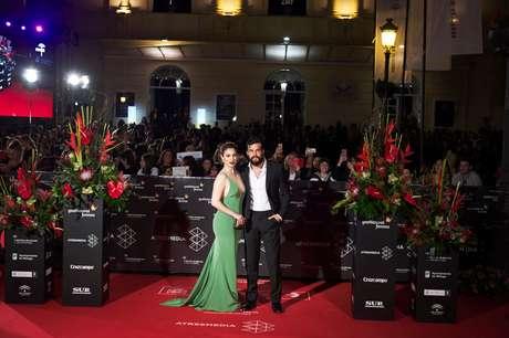 Blanca Suárez y Mario Casas en la inauguración del Festival