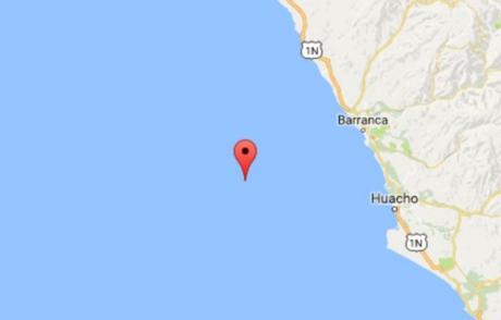 Un sismo de 4.1 grados de magnitud se registró a las 15.20 horas de hoy en la ciudad de Lima.