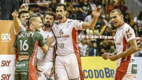 Vôlei Kirin conquista primeira vitória nos playoffs Wander Roberto/Inovafoto/CBV