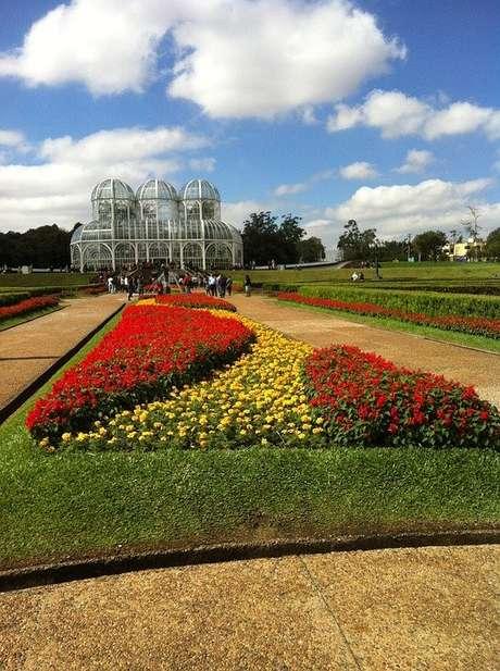 O Jardim Botânico foi um dos parques construídos na gestão Lerner em Curitiba