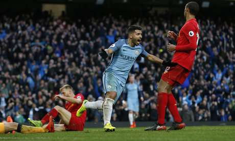 Aguero marcou o empate do City