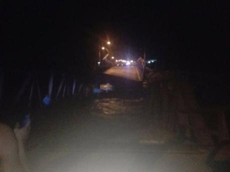 Colapso del puente Virú.