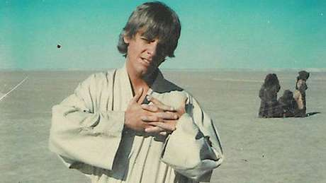 Mark Hamill comparte una icónica foto de Luke Skywalker