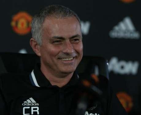 Mourinho chegou ao United no início da temporada (Foto: Divulgação)