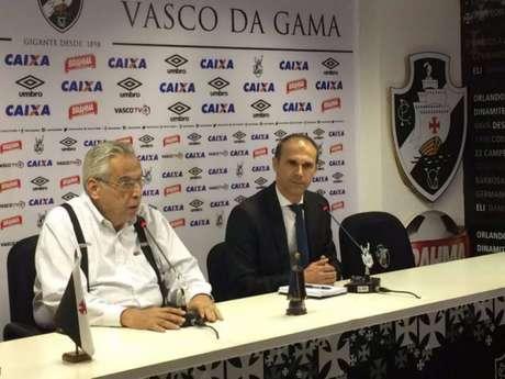 Milton Mendes chegou motivado ao Vasco e acredita ser seu maior desafio na carreira (Foto: Hugo Mirandela)