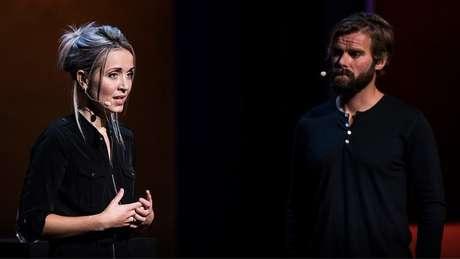A palestra da dupla no TED foi vista remotamente por quase 3 milhões de pessoas