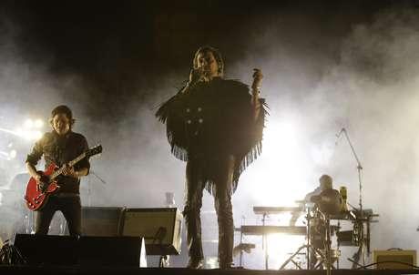 El grupo mexicano Zoé durante su presentación en el festival Vive Latino, en la Ciudad de México, el domingo 19 de marzo del 2017.